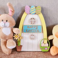 Easter Bunny Magical Door