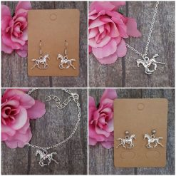 'Animal' Squirrel Necklace | Tibetan Silver Charm Birthday Christmas Mothers Mother's Day Valentine Anniversary Easter Jewellery Squirrels Acorn Gift Ideas | Charming Gifts
