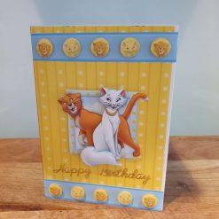 Disney's Aristocat's Birthday Card