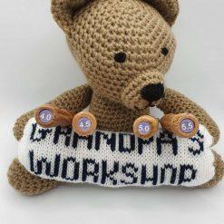 Wood Handled Crochet Hook 4