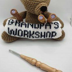 Wood Handled Crochet Hook 2