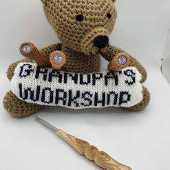 Wood Handled Crochet Hook 1