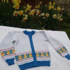 Child's Spring Chick  Cardigan