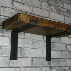 2 x Scaffold Board Shelf Brackets - coffee shop, restaurant Heavy Duty 225mm
