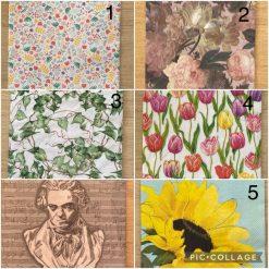 Napkins for Decoupage/Paper Crafts - Florals 2
