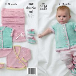 King Cole - Knitting Pattern - Girl's Own