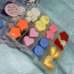 100% highly scented soy wax melts