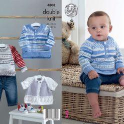King Cole - Knitting Pattern - Sweaters & Cardigan