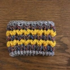 Cup / Can Cozy Yellow & Multi Coloured