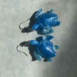 Sea turtle earrings, novelty gift, earrings custom made, gift, Easter ideas