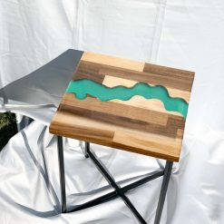 | Resin River Table | Free Delivery | Turquoise |