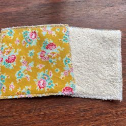 Flower face wipes