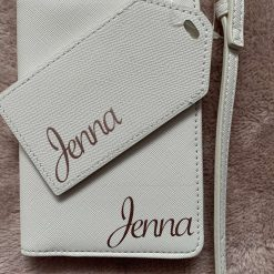 Passport holder and tag