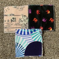 Patterned face wipes