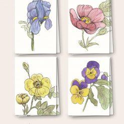 Wildflower Notecards - Set of 8