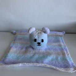 Baby comforter blanket bear