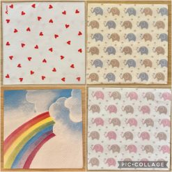 Napkins for Decoupage/Paper Crafts - Baby