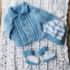Pram set cloud blue