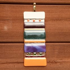 Fused Glass Totem Hanging