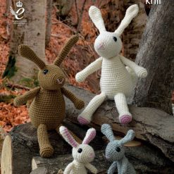 King Cole - Crochet Pattern - Amigurumi Rabbit Family