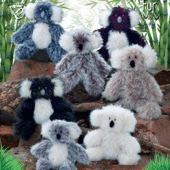 King Cole - Knitting Pattern - Luxe Fur Koala