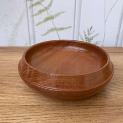 Brown Ivory Wooden Bowl
