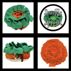 Snuffle Sprout Carrot Top snuffle mat