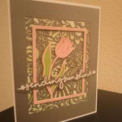 Handmade Sending Sunshine Card