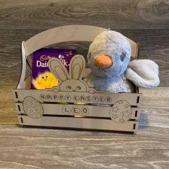 Easter Bunny Personalised Basket 1