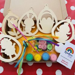 Easter Bauble Craft Kit Easter Crafts Buttonart Childrens Crafts Painting Sets Letterbox Gifts