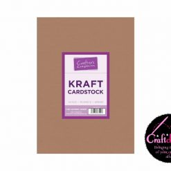 Crafter's Companion - Kraft Cardstock - A4 - 280gsm - 50 Sheets