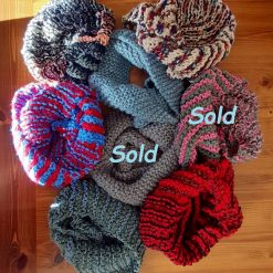 Colourful Snoods - Hand-Knitted