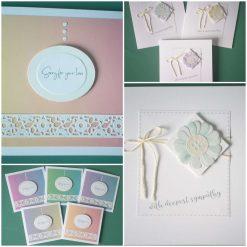 Condolence Cards - Handmade