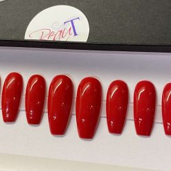 """""""Classic Red"""" Press on Nails"""