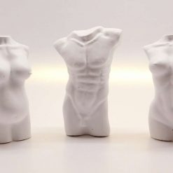 Human Torso Figurines, Concrete