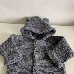 Baby cardigan hooded jacket