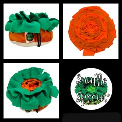 Snuffle Sprout®️ Carrot Top snuffle mat