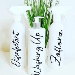 Kitchen Bottle Trio