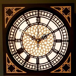 Handmade Clock working