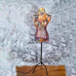 The Manc 'Suzi' Mannequin lamp