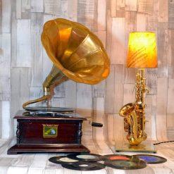 The Manc grammy lamp