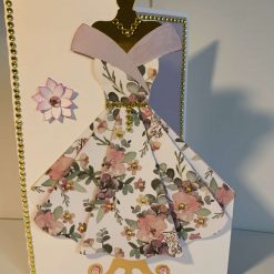 A - Ladies dress card