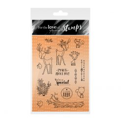 Hunkydory Crafts - For the Love of Stamps - Deer Friends
