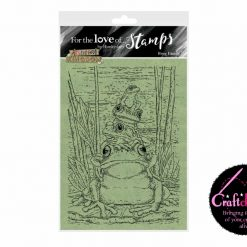 For The Love Of Stamps - Hunkydory - Animal Kingdom - Frog Family - A6 Stamp