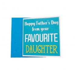 Happy Father's Day Favourite Son Greeting Card