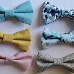 Dog Bow Tie - retro/geo collection