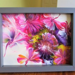 """""""SUMMER BOUQUET""""  -  PAINTING ON GLASS"""