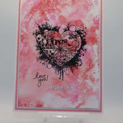 Love You Forever Valentine's card
