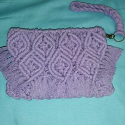 Macrame bag/bohemian bag/handbag/Clutch bag/purse/handmade bag with free UK postage.
