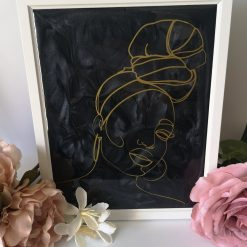 'Breanna' Bespoke Handmade Resin Art Piece FREE SHIPPING